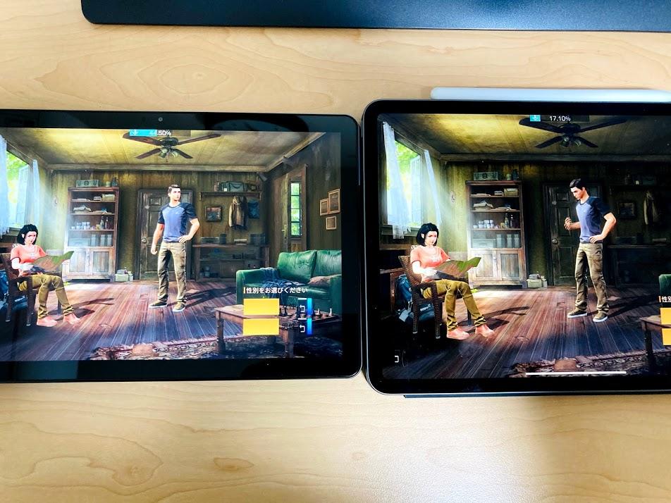 iPadとChromebookのゲーム利用比較